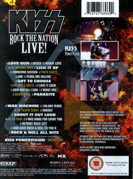 Rock the Nation - Live by Kiss