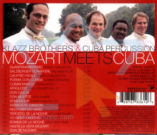 Mozart Meets Cuba by Klazz Brothers & Cuba Percussion