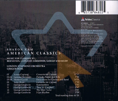 American Classics by Sharon Kam