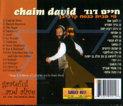 Greatful...And Alive by Chaim Dovid