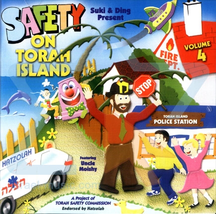 Uncle Moishy - Safety on Torah Island Par Uncle Moishy