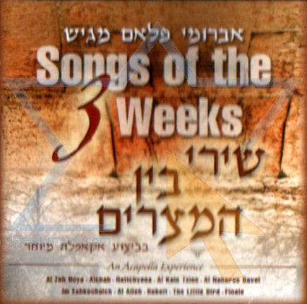 Songs of the 3 Weeks - Avrumi Flam
