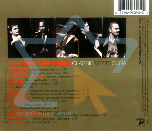 Classic Meets Cuba by Klazz Brothers & Cuba Percussion