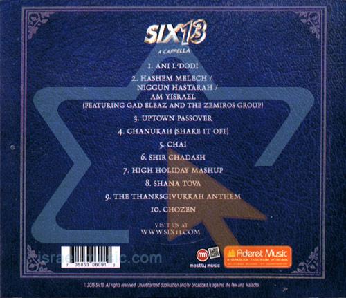 Vol 6: Thirteen by Six13
