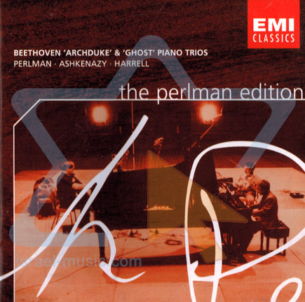 Archduk & Ghost Piano Trios by Itzhak Perlman