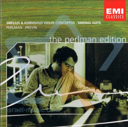 Sibelius & Korngold Violin Concertos - Sinding Suite by Itzhak Perlman
