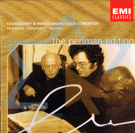 The Perlman Edition: Tchaikovsky & Mendelssohn Violin Concertos - Itzhak Perlman