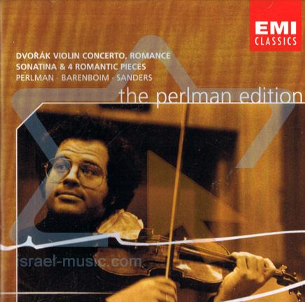 The Perlman Edition: Dvorak: Violin Concerto, Romance - Itzhak Perlman