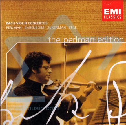 The Perlman Edition: Bach Violin Concertos - Itzhak Perlman