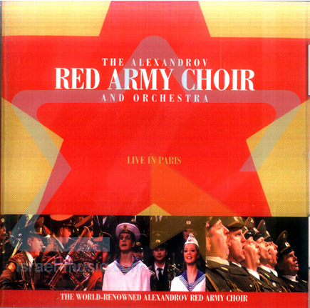 Live in Paris by The Red Army Choir