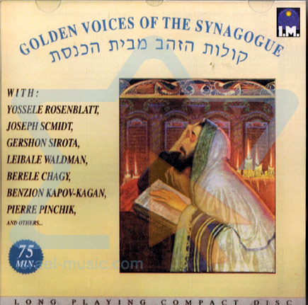 Golden Voices of the Synagogue Par Various