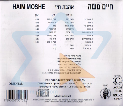 Love of My Life by Haim Moshe