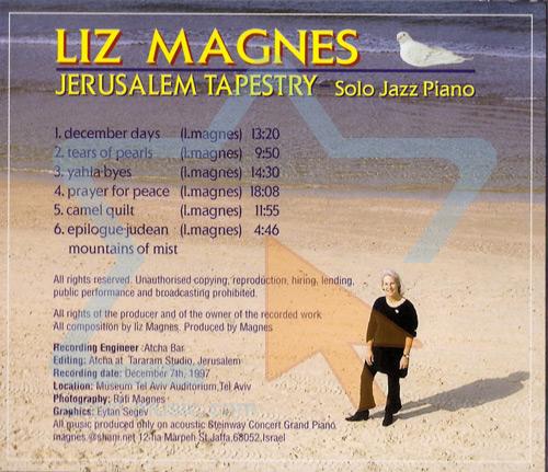 Jerusalem Tapestry - Liz Magnes