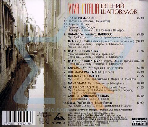 Viva L'italia Par Yevgeni Shapovalov