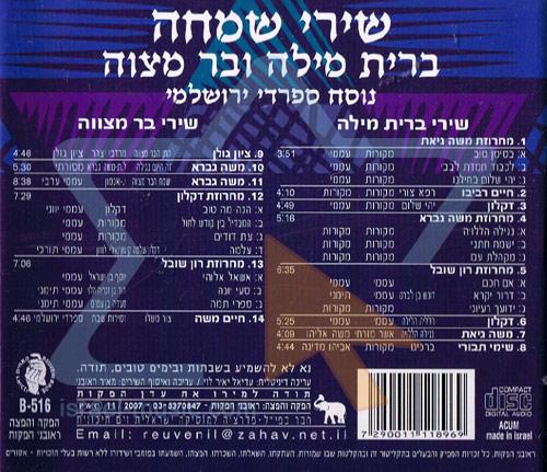 Bar Mitzvah Songs by Various