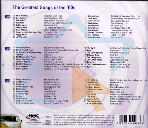 The Greatest Songs Of The '60s by Various