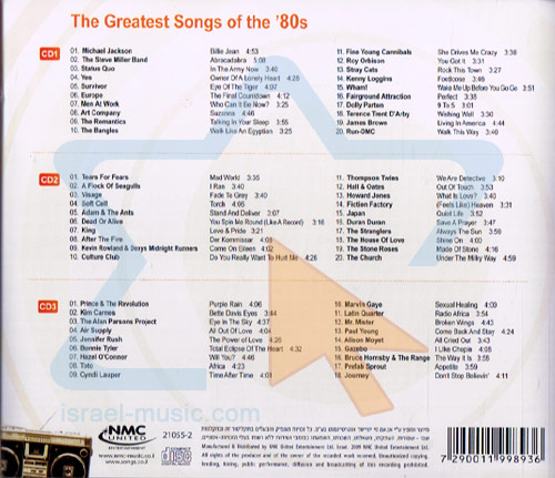 The Greatest Songs Of 80s By Various