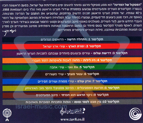 The Soundtrack Of Israel لـ Various