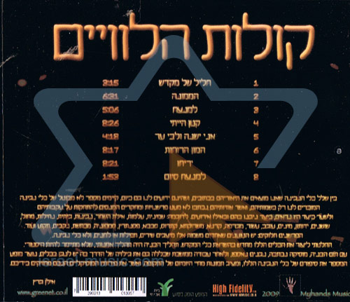 Voices Of The Levites by Ilan Green
