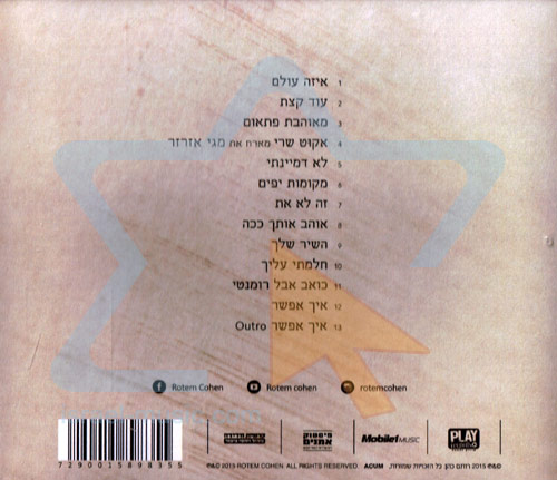 Lo Dimyanti (I Didn't Imagine) by Rotem Cohen
