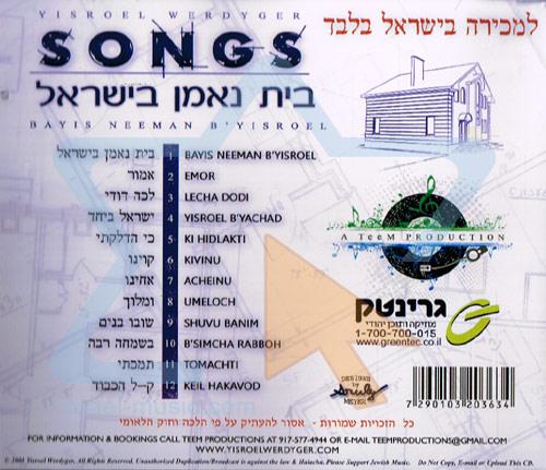 Bayis Neeman B'yisroel by Yisroel Werdyger