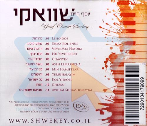 Chavivin Alay by Yosef Chaim Shwekey