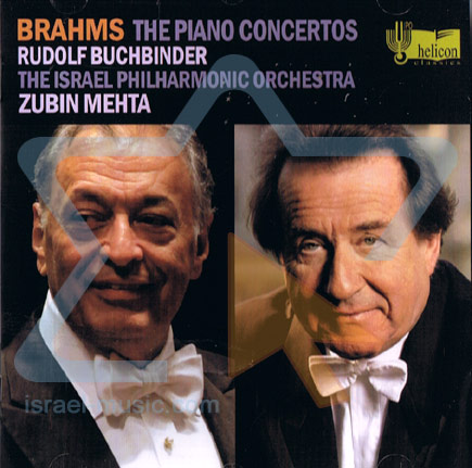 Brahms - The Piano Concertos by The Israel Philharmonic Orchestra