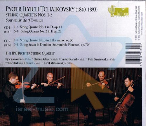 Tchaikovsky: String Quartets Nos. 1 - 3 / Souvenir de Florence by The IPO Richter String Quartet