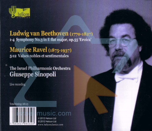 """Beethoven: Symphony No. 3 """"Eroica"""" / Ravel: Valses Nobles et Sentimentales by The Israel Philharmonic Orchestra"""