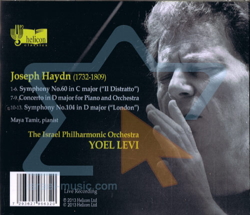 """Hayden: Symphony No. 60 (""""Il Disratto"""") / No. 104 (""""London"""") by The Israel Philharmonic Orchestra"""