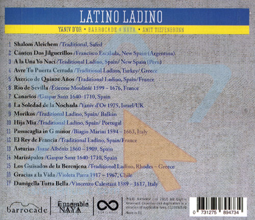 Latino Ladino by Yaniv D'or