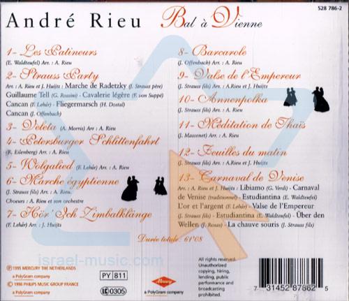 Bal à Vienne by André Rieu