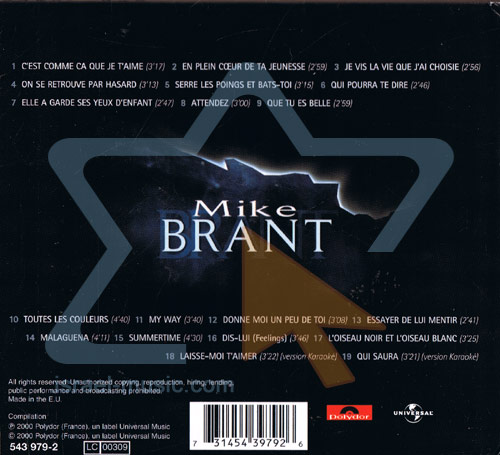 Mike Brant by Mike Brant