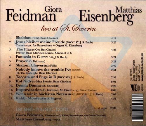 Live at St. Severin - Giora Feidman