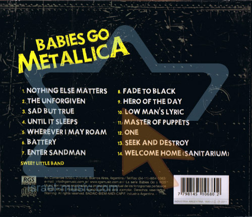 Babies Go Metallica by Sweet Little Band