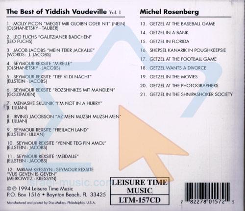 The Best of Yiddish Vaudeville & Michel Rosenberg Par Various