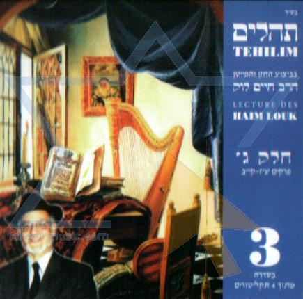 Tehilim - Part 3 by Cantor Haim Look