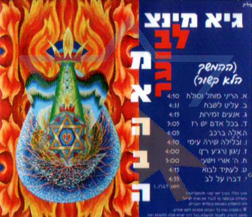 Burning Heart from Love by Guy-Tzvi Mintz