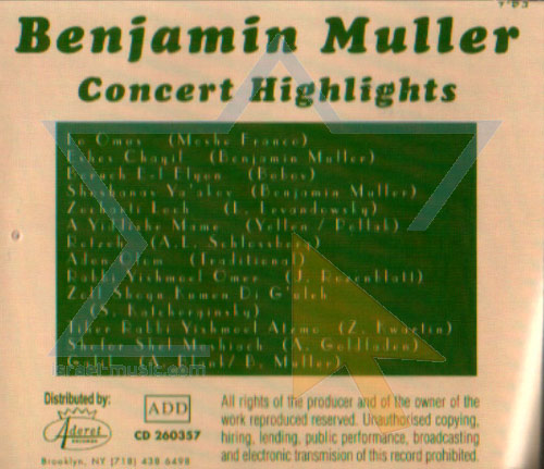 Concert Highlights by Benjamin Muller