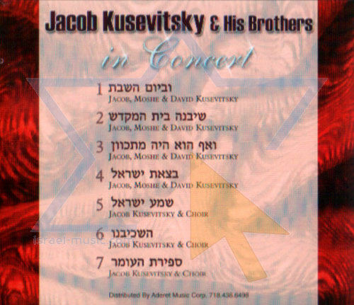 In Concert by Jacob Koussevitzky and His Brothers