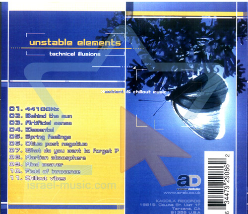 Technical Illusions by Unstable Elements