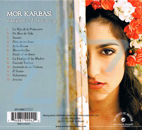 Daughter of the Spring Par Mor Karbasi