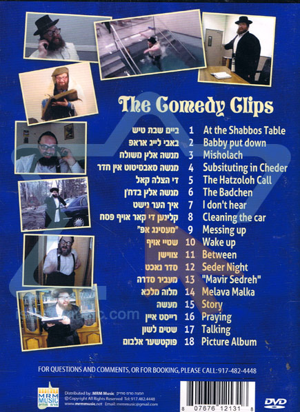 The Comedy Clips by Menashe Lustig
