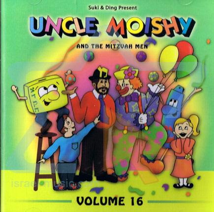 Uncle Moishy and the Mitzvah Men Vol. 16 Par Uncle Moishy