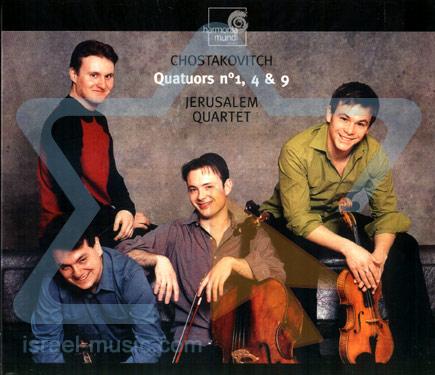 Chostakovitch by Jerusalem Quartet