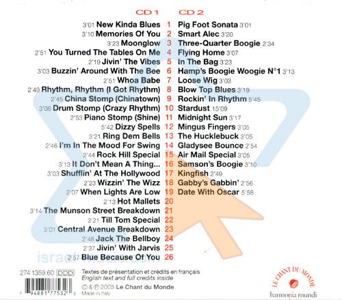 Jivin the Vibes by Lionel Hampton