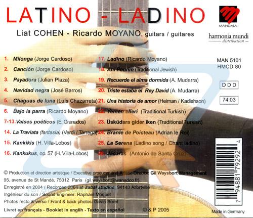 Latino Ladino Par Liat Cohen