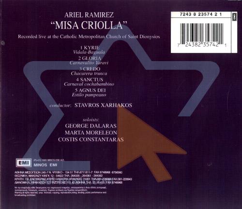 Misa Criolla by Yorgos Dalaras