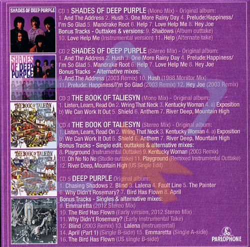 Hard Road: The Mark 1 Studio Recordings 1968 - 1969 by Deep Purple