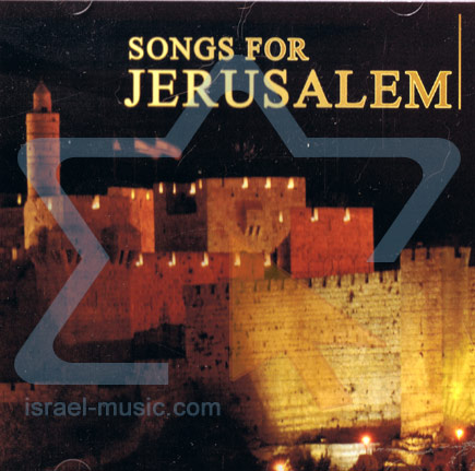 Songs for Jerusalem Par Amos Barzel